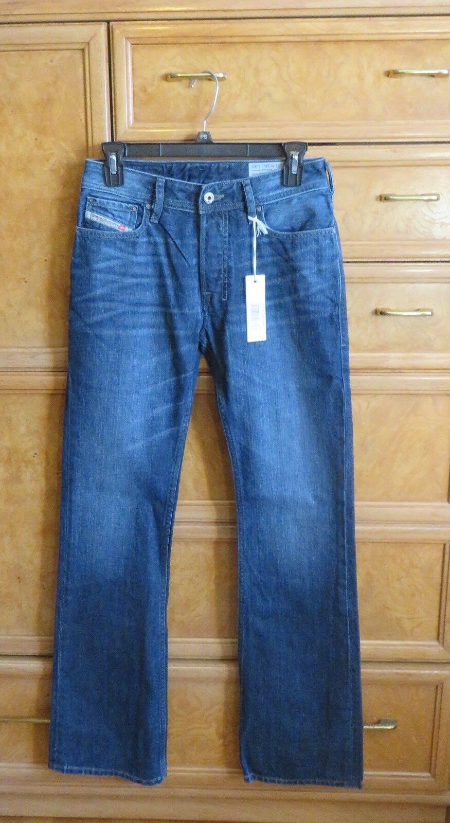 dd21727817b Men's Diesel Zatiny regular boot cut jeans size 26x32 brand new NWT ...