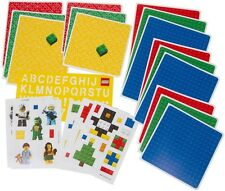 LEGO Birthday Party Card Making Kit Set *BRAND NEW* 15 CARDS minifig stickers
