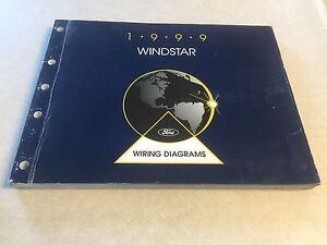 1999 Windstar Van Ford Wiring Diagram Workshop Repair ...