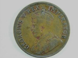 Moneda-South-Africa-1-Penny-1D-1936-British-Dominion-George-V-World-Coins