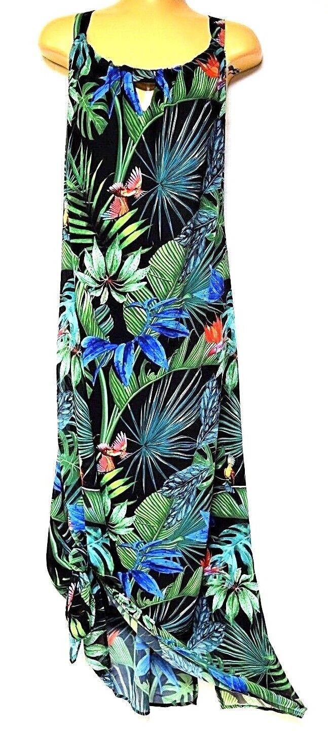 TS dress TAKING SHAPE plus sz L   22 Paradise Dress stunning tropical NWT rp 130