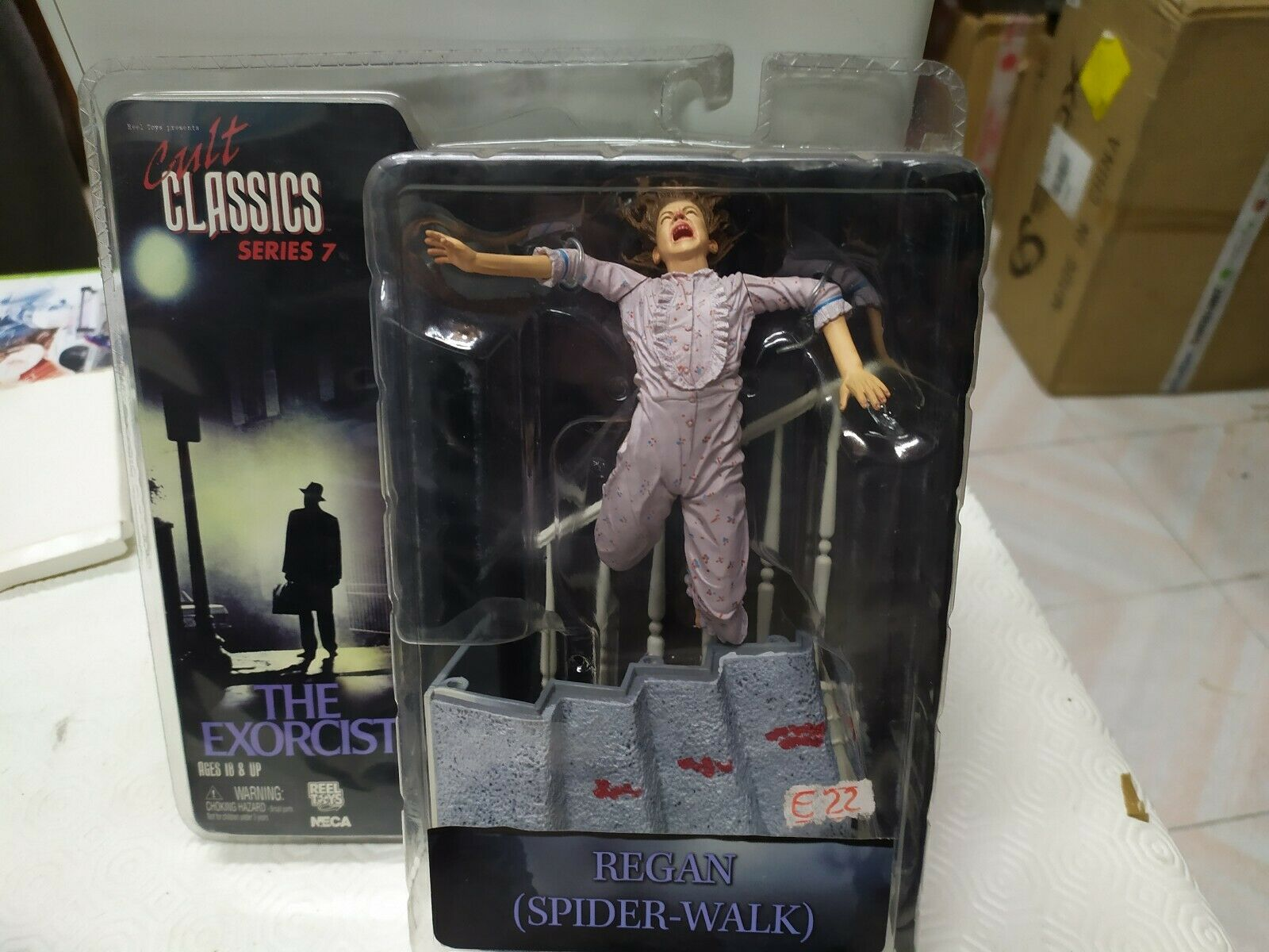 CULT CLASSICS SERIES 7 THE EXORCIST REGAN (SPIDER-WALK) ACTION FIGURE