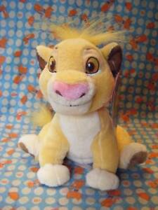 DISNEY-STORE-THE-LION-KING-BABY-SIMBA-SOFT-TOY-7-034-SITTING-APPROX-WITH-TAGS-VGC