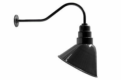 "Angle Reflector 16/"" Industrial Lighting Fixture White"