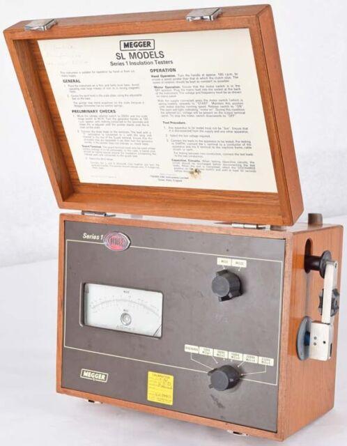 S133300 Biddle Megger 218638 Series I Insulation Tester For Sale Online Ebay