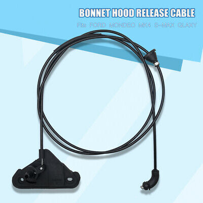 BONNET HOOD RELEASE CABLE FOR FORD S-MAX GALAXY 2006 ONWARD