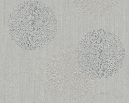 Vliestapete A.S Kreise Kugeln Grau Taupe //EUR 2,43//qm Creation Spot 93792-1