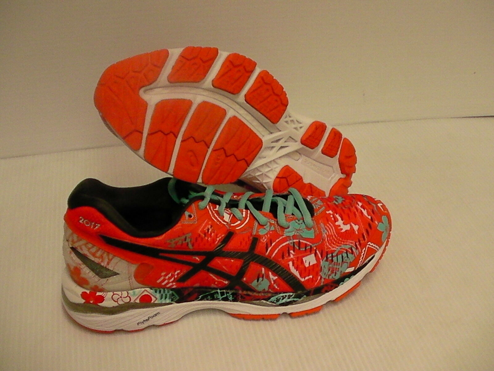 Asics women's gel kayano 23 tokyo running shoes mandarin red size 6.5 us new Casual wild
