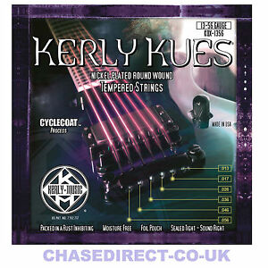 kerly kues long life electric guitar strings coated 13 56 heavy gauge ebay. Black Bedroom Furniture Sets. Home Design Ideas