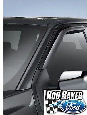 Reg Cab 2015-2018 Genuine FORD F-150 Side Window Rain Deflectors