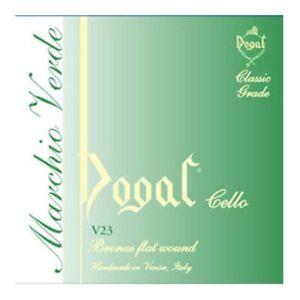 Dogal V23a Green Series Cello Strings Set - 4/4 à 3/4-afficher Le Titre D'origine Longue DuréE De Vie