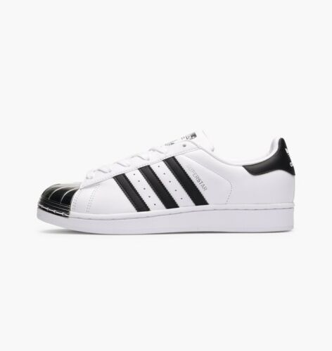 Bb5114 Adidas Uk argent métal Embout 5 8 en Superstar noir 9 Blanc Originals z580E0xqw