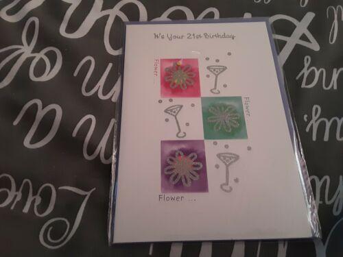 flowers Female 40th Birthday Card BNIP