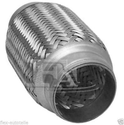 Für Honda Flexrohr Flexstück 180mm Flammrohr Hosenrohr Auspuff Rohr 45x200mm