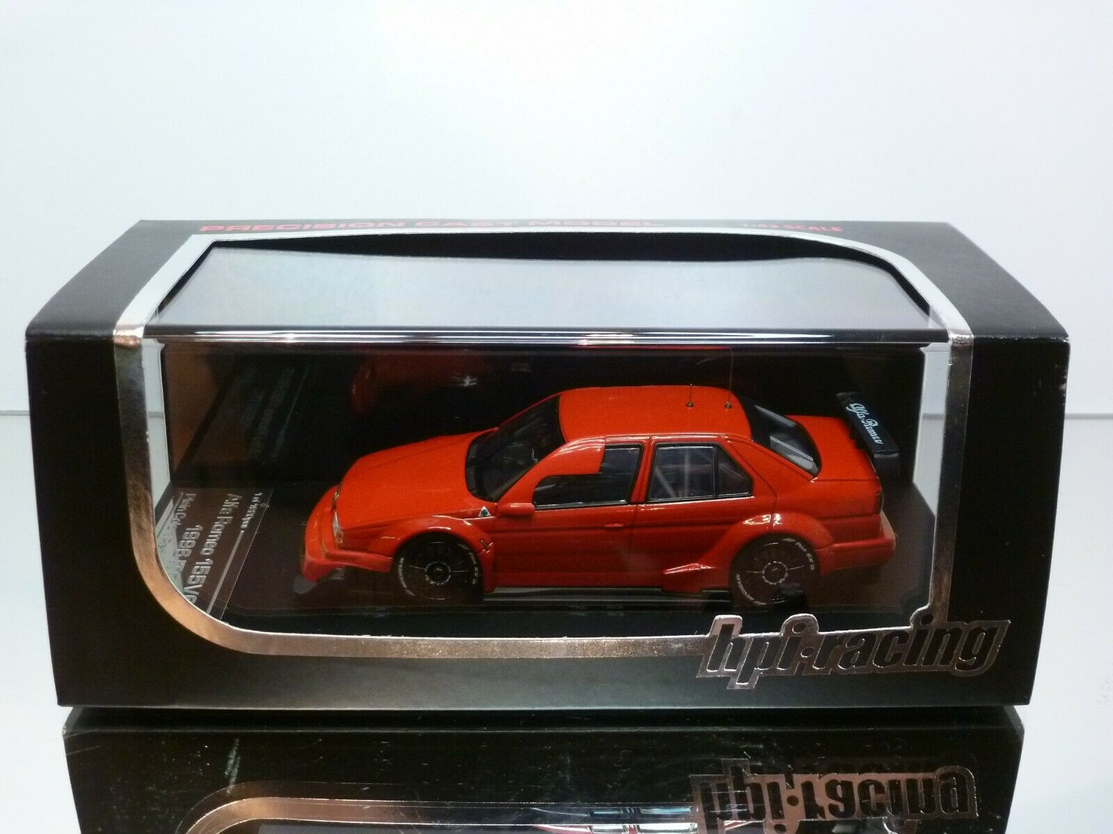 HPI-RACING 8026 ALFA ROMEO 155 V6 TI ITC - rosso 1 43 - EXCELLENT IN BOX