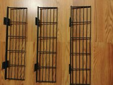 3 Wire Small Slatwall Shelf 52 X 20 Small Slatwall Bracket Black