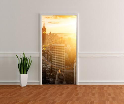 Türtapete New York Tapete Tür Türaufkleber Türbild Aufkleber
