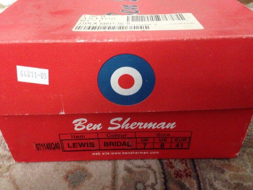 Ben Sherman Original Lewis Bridal Shoes New In Box NIB Size: US 8,