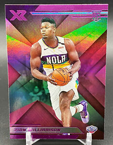 2019-20 Panini Chronicles XR Pink Zion Williamson Rookie #271 Pelicans