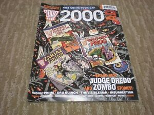 2000AD - Free Comic Book Day Promo (2013) PROMO Judge Dredd VF/NM