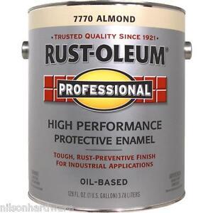 Details About 1 Gal Almond Rust Oleum Voc Compliant Rust Control Gloss Enamel Paint 215966