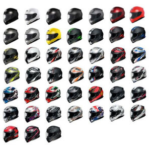 Shoei-RF-1200-Full-Face-Snell-DOT-Motorcycle-Street-Helmet-Pick-Size-amp-Color