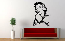 "MARILYN MONROE WALL DECOR DECAL/STICKER- 24"" X 17"" Great Piece!"