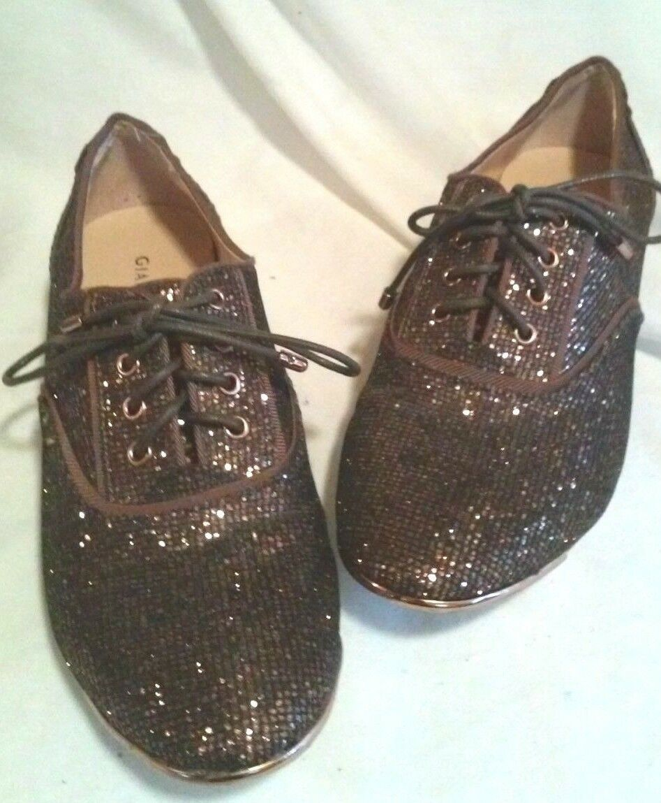 GIANNI COPPER BINI COPPER GIANNI COLOROT SPARKLEY Schuhe SIZE 7.5 M a91d98