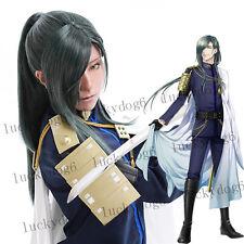 Touken Ranbu Nikkari Aoe Green Online Anime Cosplay Hair Wig Synthetic Wigs NEW