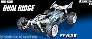 Tamiya 58596 Dual Ridge - Kit Voiture Rc Buggy 4wd Rc (voiture Sans Esc)