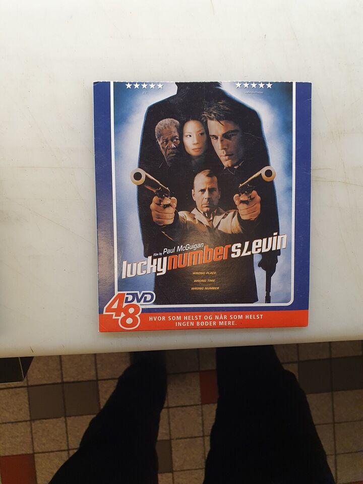 Lucky number slevin, DVD, thriller
