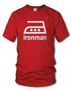Detalles De Ironman Culto T Shirt Plancha Atleta Funshirt Varios Colores S Xxl Ver Título Original
