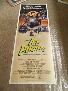 ICE-PIRATES-1984-ROBERT-URICH-ROLLED-INSERT-MOVIE-POSTER-NICE-ART-SCI-FI