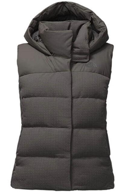 NWT The North Face WOMEN'S NOVELTY NUPTSE VEST Asphalt Grey Size M