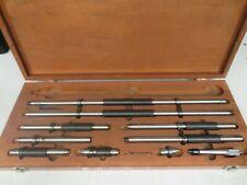 Starrett Model 128az Inside Micrometer Set 6 78 001 Nm13