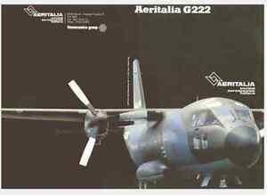 AERITALIA-FIAT-G222-1983-eng-FLIGHT-MANUAL-AIRCRAFT-AERONAUTICA-Brochure-DVD