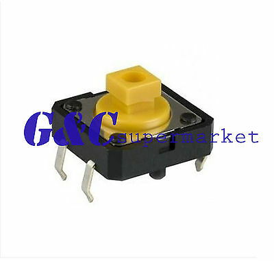20PCS B3F-4055 12*12*7.3 Tactile Switch compatible with OMRON