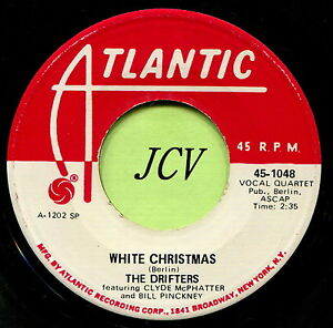 Drifters White Christmas.Details About Drifters White Christmas Bells Of Saint Mary S R B Soul 45 Rpm Record