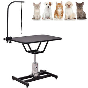 Image Is Loading Professional Hydraulic Pet Dog Grooming Table Haircut Swivel