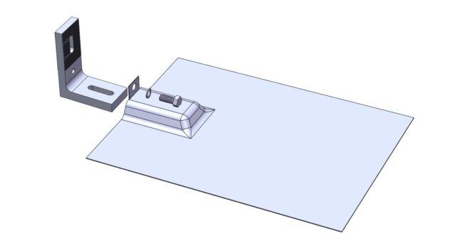 Solar Panel Mounting Rack 7 Foot Aluminum Rails Amp Hardware