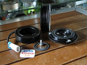 Solenoide compresor de Opel Astra corsa Zafira meriva incl kit de montaje!