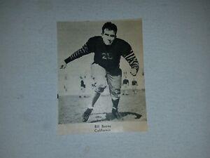 Bill Boone University of California 1934 Football Pictorial Roto-Panel