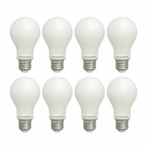 Details About Sylvania 60w Equivalent Soft White Dimmable Daylight Led Light Bulb 8 Bulbs