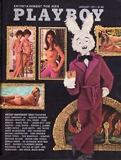PLAYBOY JANUARY 1971 Joan Rivers Bill Cosby Mario Puzo Veruska RCVR