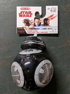 Target-Exclusive-Star-Wars-BB-9E-Droid-Hallmark-Christmas-Ornament-Blown-Glass