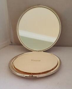 vintage-large-Volupte-sterling-silver-round-compact-powder-signed-4-034-no-monogram