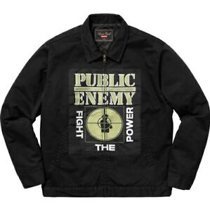 Image Is Loading Supreme X Undercover Public Enemy Work Jacket
