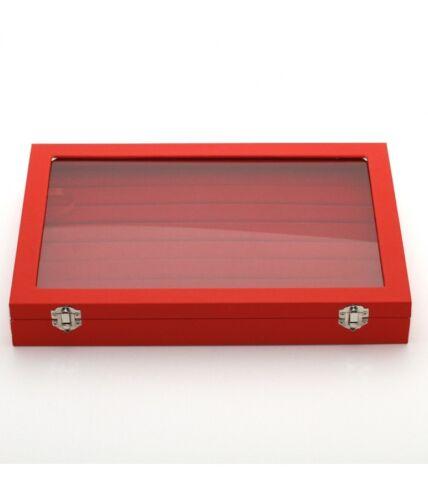 Présentoir coffret boîte à bagues 34x24cm simili cuir