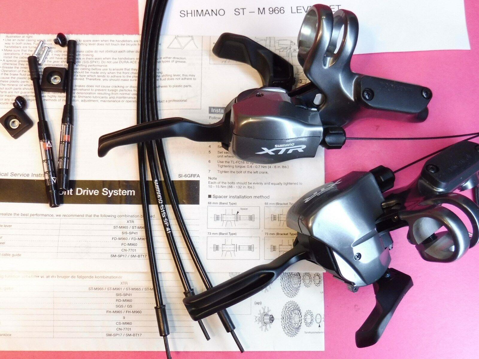 Shimano Xtr St-M966 Hebelsatz (9 X 3) - Nummern