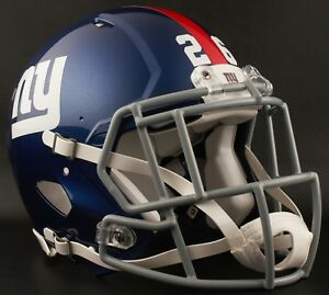 uk availability cbf30 e6935 Details about SAQUON BARKLEY Edition NEW YORK GIANTS Riddell AUTHENTIC  Football Helmet NFL